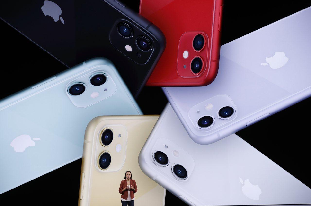 蘋果新機iPhone 11。路透