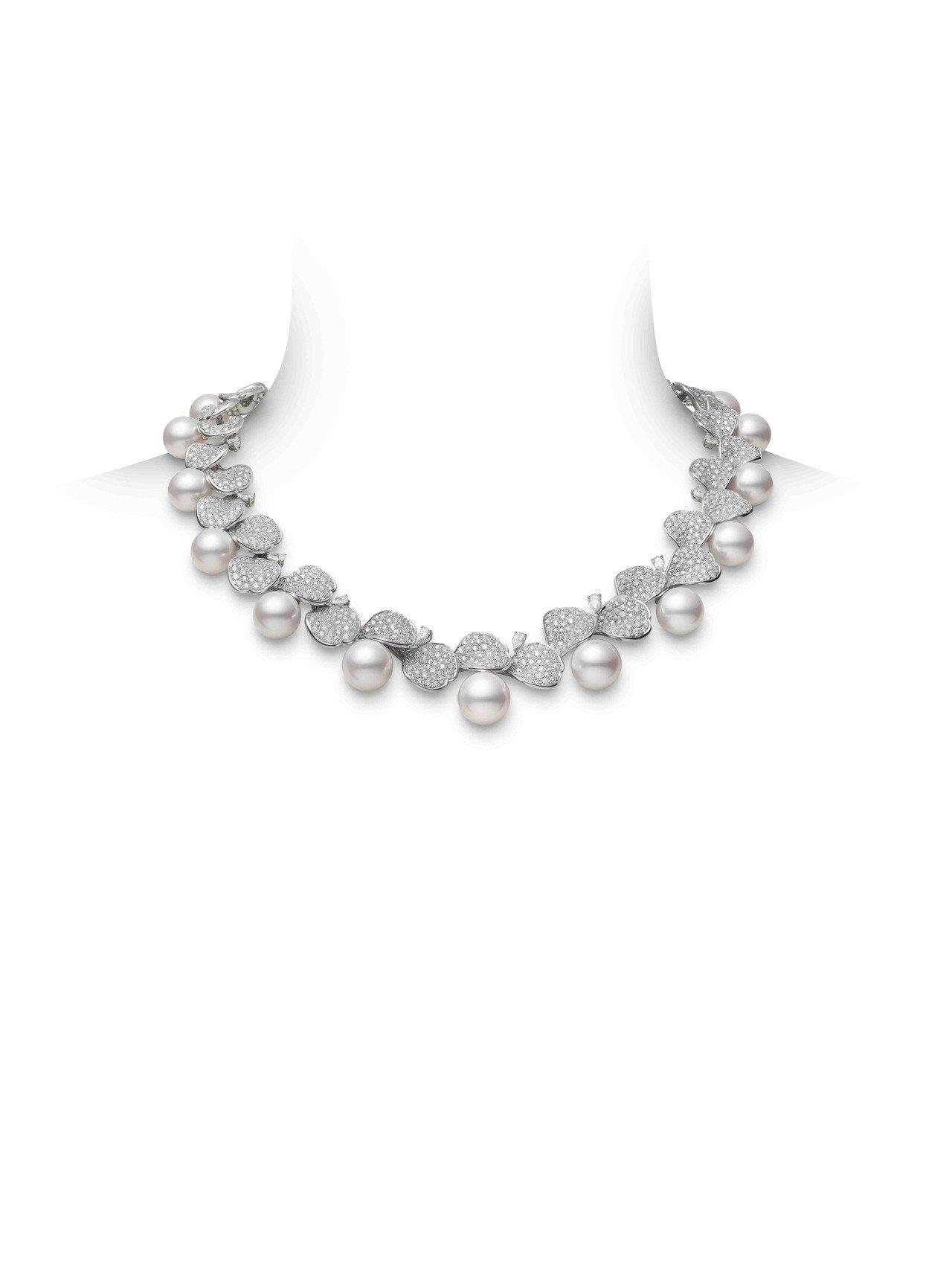MIKIMOTO Les Pétales Place Vendôme頂級珠寶系列...