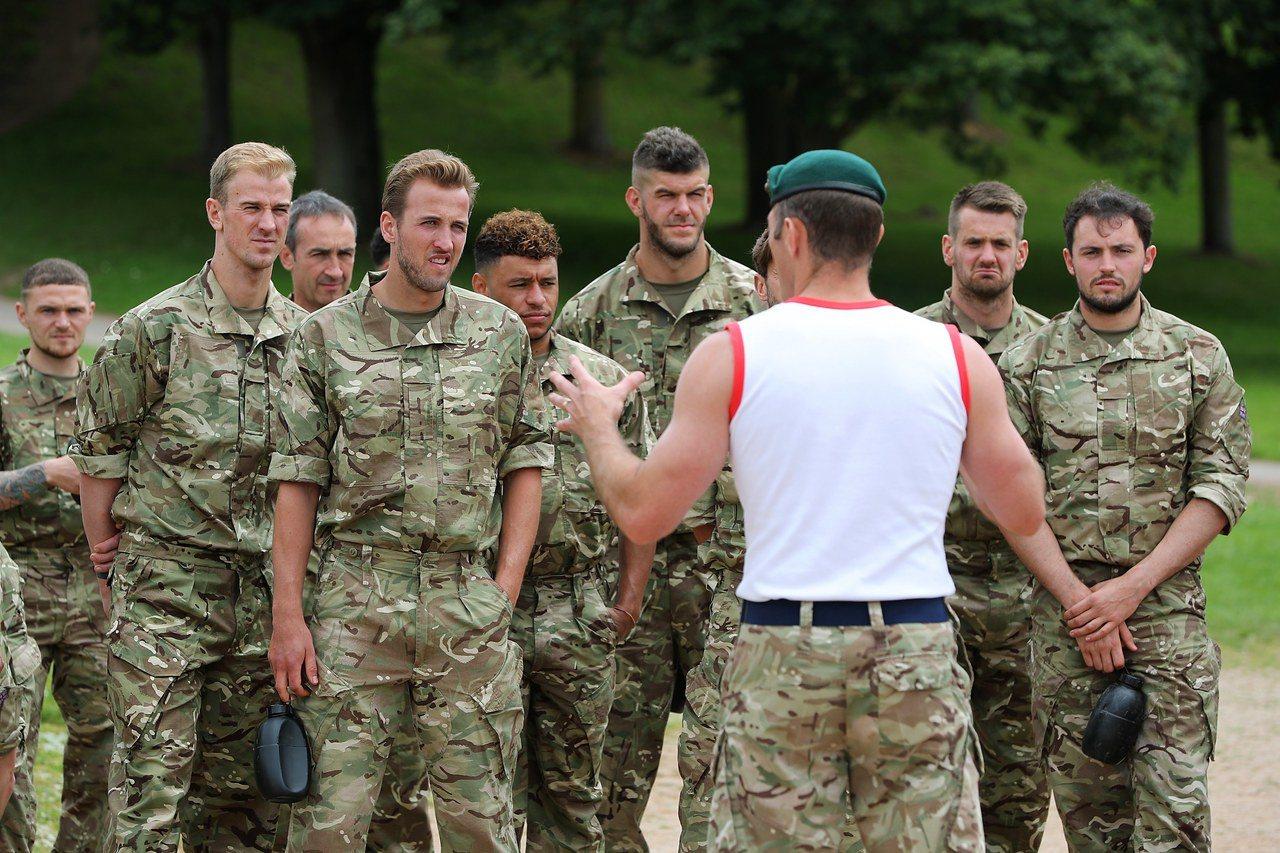 英國海軍陸戰隊准許蓄鬍。 (歐新社)