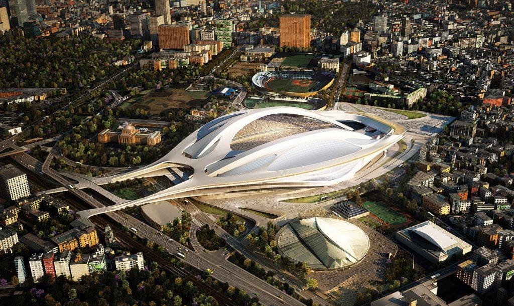 裕隆不是第一個打退堂鼓的案主,東京奧運主場館的設計(見圖)太燒錢被換掉。