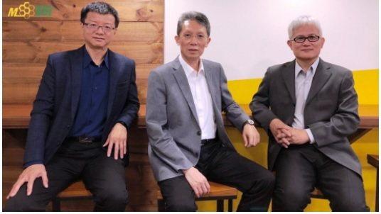 汎銓科技營運長廖永順(左起)、董事長柳紀綸、技術長陳榮欽博士。 汎銓科技/提供