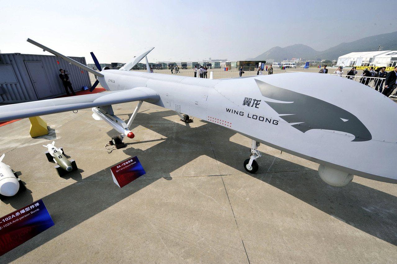 塞爾維亞購9架「翼龍」,中共武裝無人機首次出口歐洲。 (新華社資料照)