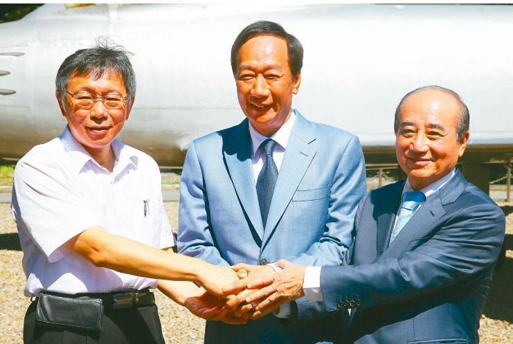鴻海創辦人郭台銘昨晚宣布不參選,2020總統大選繞了一大圈,又回到藍綠對決格局也...