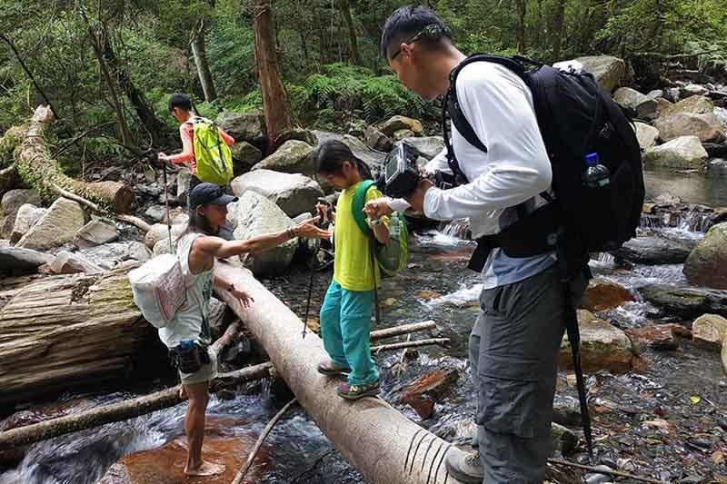 山林秘境用心去帶隊,確保隊員的安全。山林秘境/提供