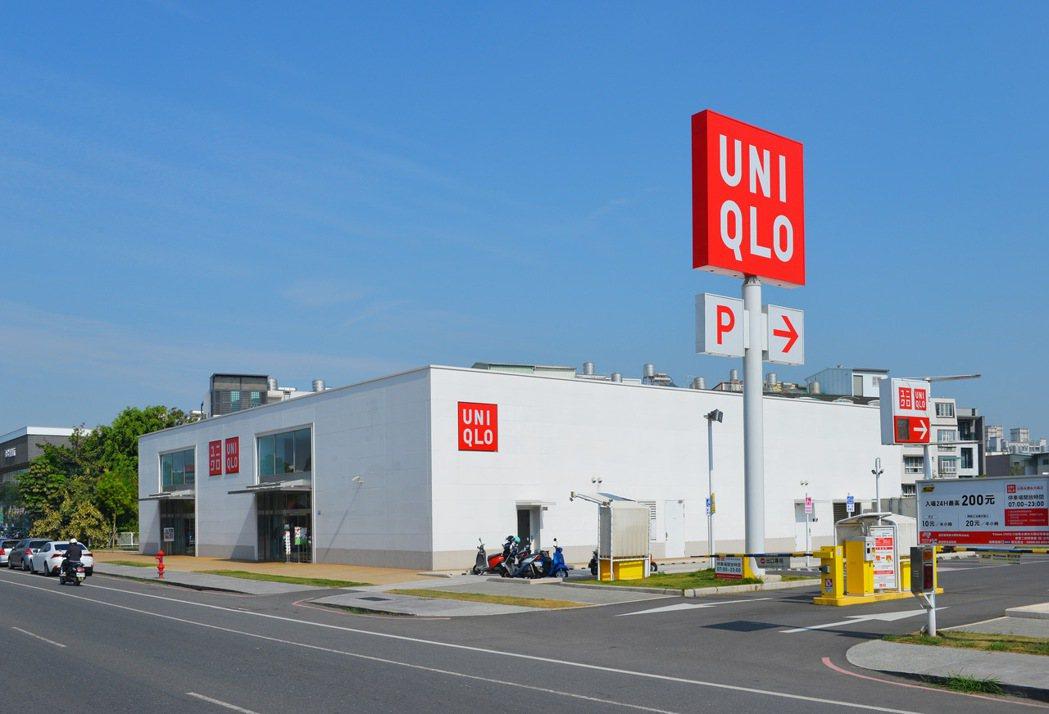 UNIQLO永康旗艦店。圖片提供/郡豐建設