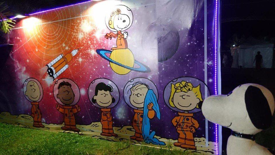 圖/Snoopy太空城市探險:人類登月50週年紀念月粉絲團