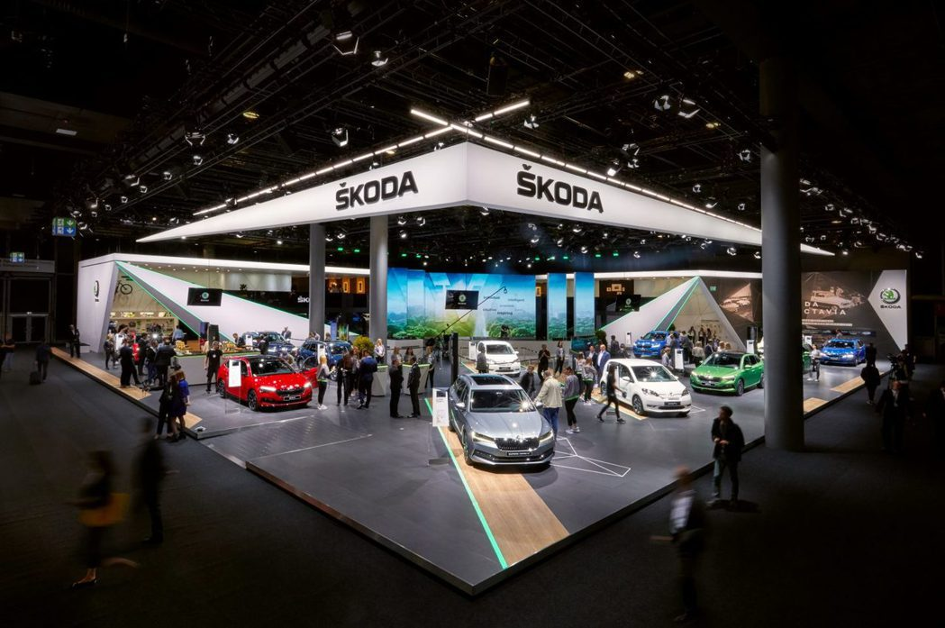 今年的法蘭克福車展上,ŠKODA帶來了兩款電動化的新作品現身。 摘自ŠKODA