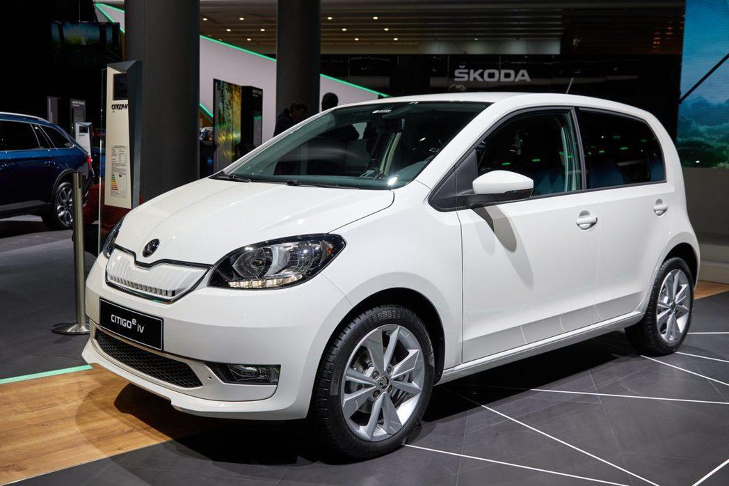ŠKODA CITIGOe iV是品牌第一款純電動車。 摘自ŠKODA