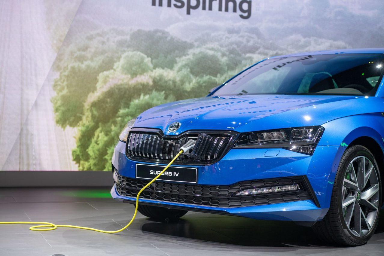 Superb iV、CITIGOe iV齊亮相 ŠKODA法蘭克福車展發表iV電動子品牌!