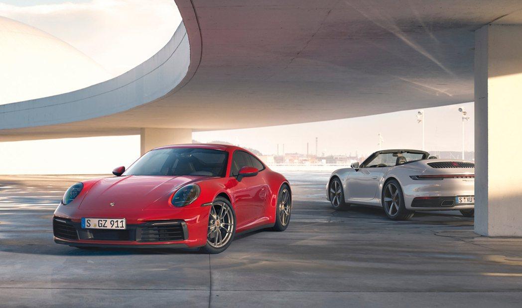 Porsche今發表全新911 Carrera 4和911 Carrera 4 ...