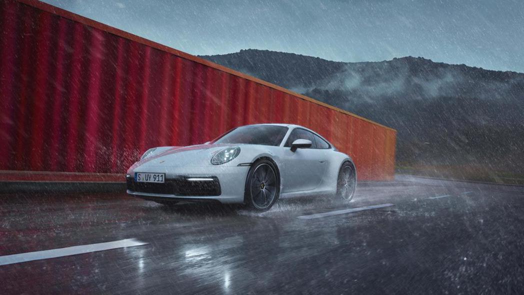 Porsche 911 Carrera 4。 圖/Porsche提供