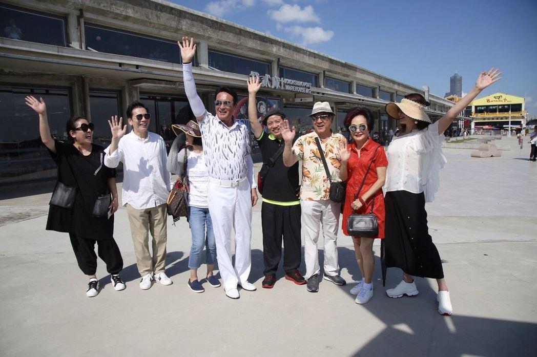 甄珍號召許多藝人到高雄做公益。圖/高雄市政府新聞局提供