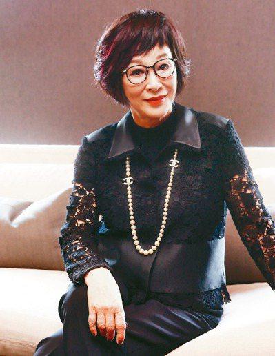 愛心不落人後,「俠女」徐楓也自掏腰包捐款50萬元。圖/聯合報系資料照片