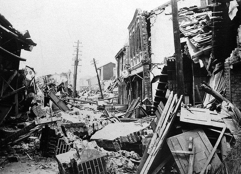1935年(昭和10年)4月21日,發生新竹-臺中地震(又名關刀山地震),共造成...