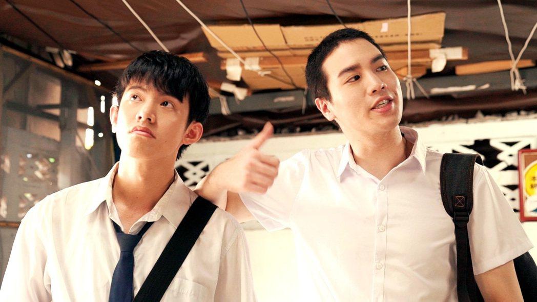 謝毅宏(右)、余杰恩主演「家教哥哥來我家」。圖/三立提供