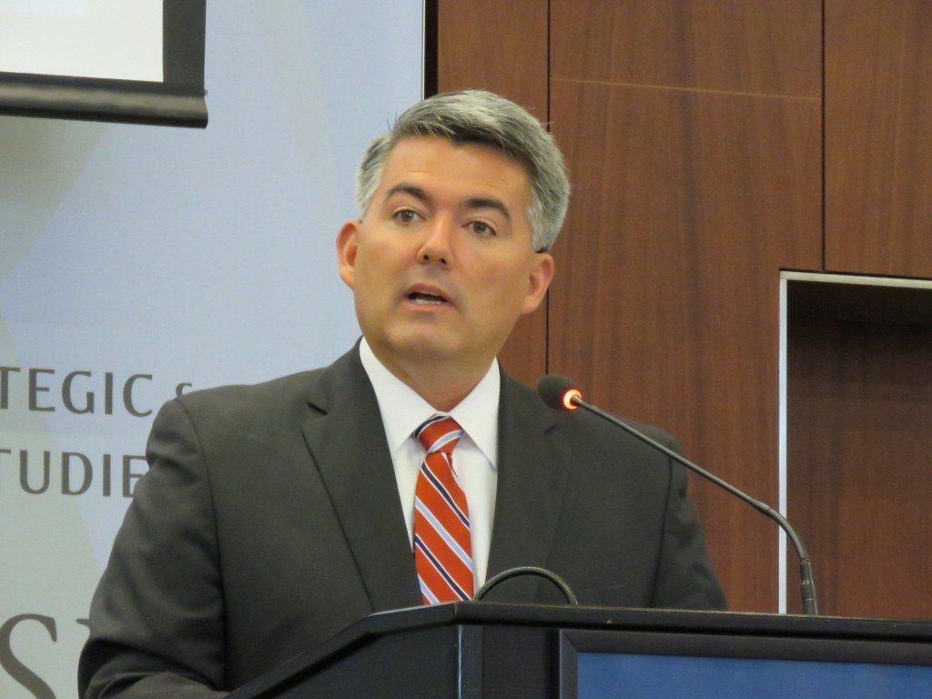 美國聯邦參議院外委會亞太小組主席賈德納。本報資料照片