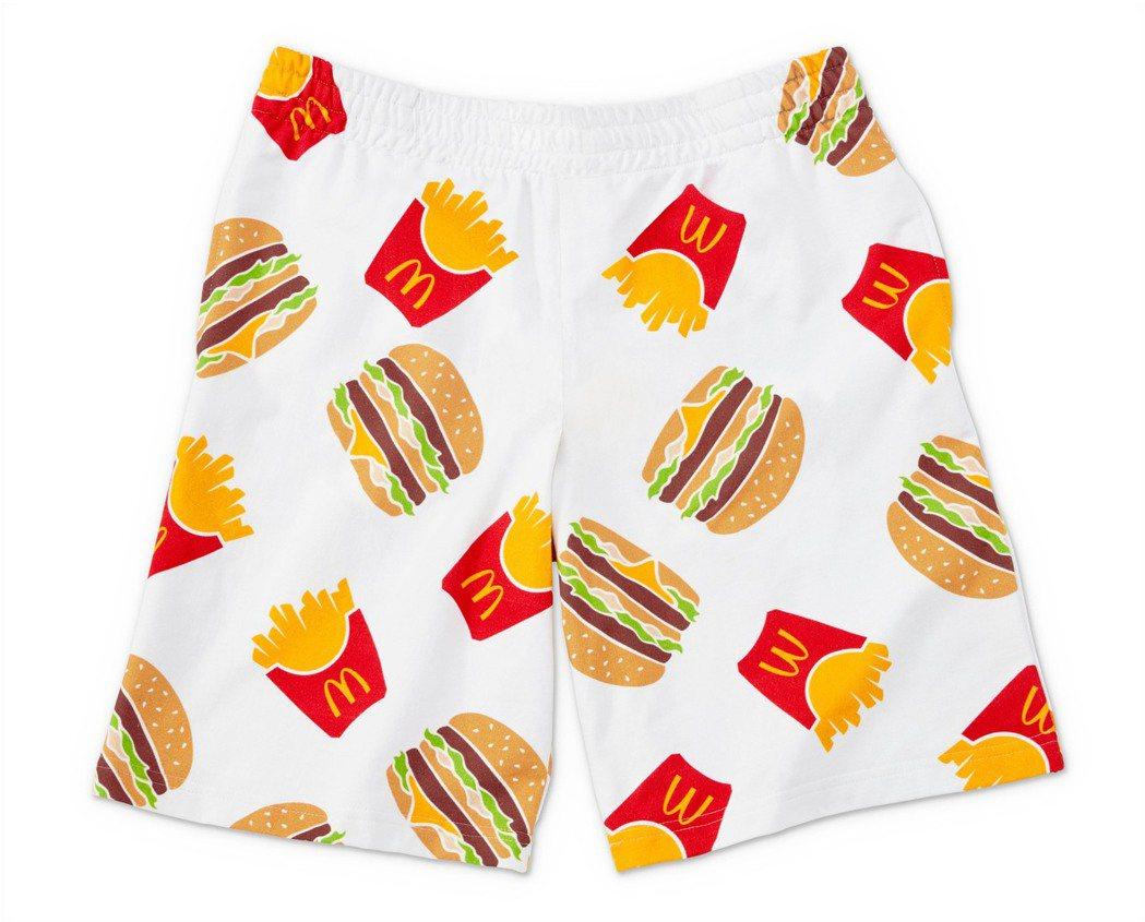 經典吃貨短褲。 圖/台灣麥當勞提供