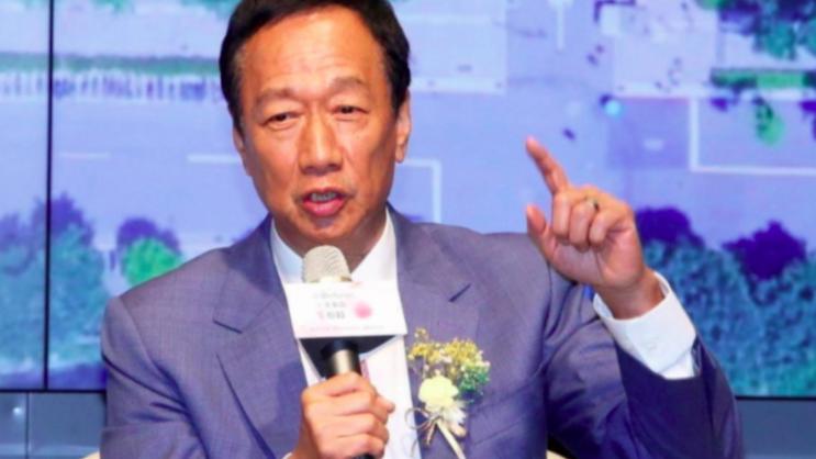 鴻海創辦人郭台銘昨天深夜宣布不登記2020總統副總統連署。本報資料照片