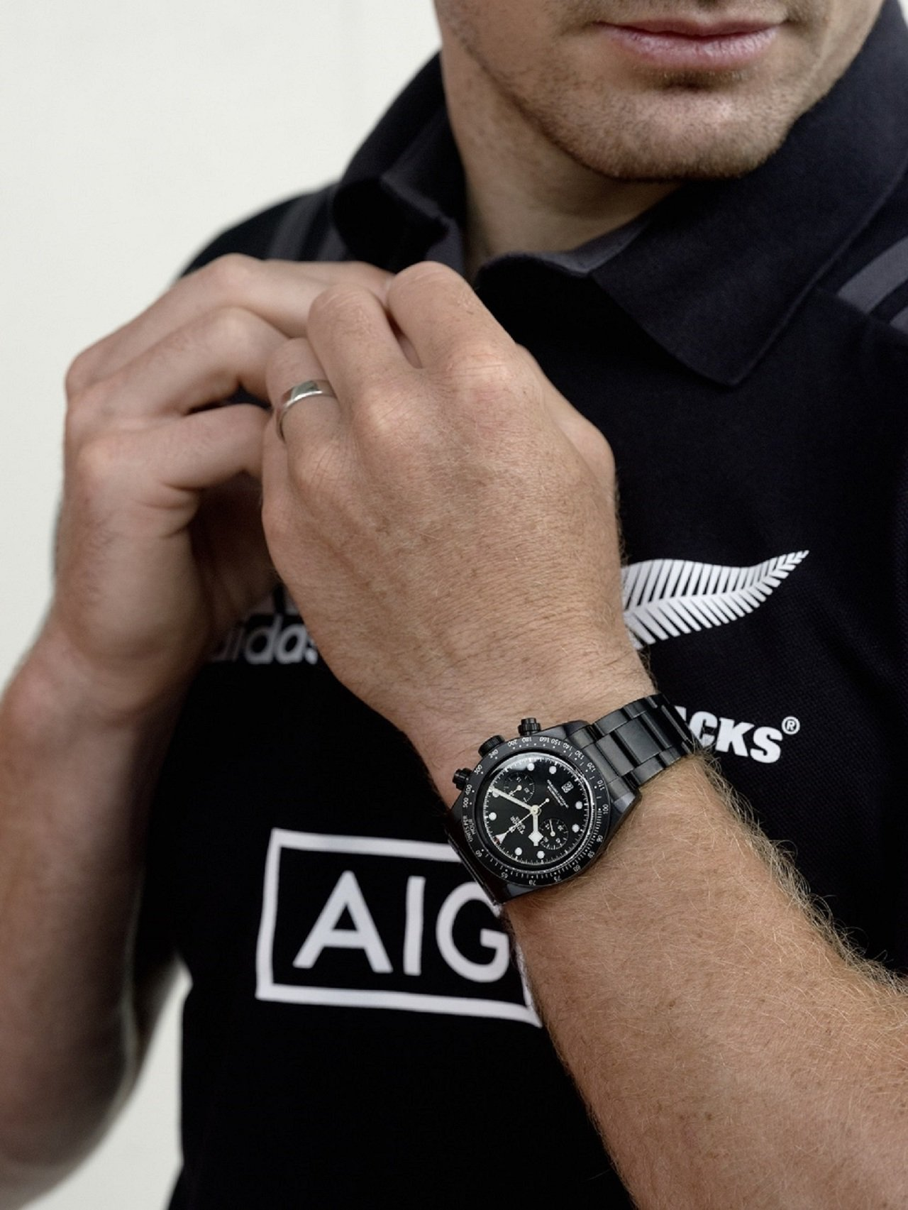 紐西蘭國家橄欖球隊黑衫軍主將Beauden Barett演繹帝舵Black Ba...