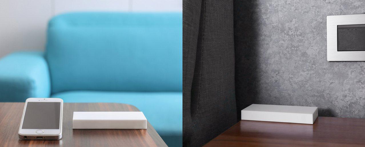 遠傳愛講智慧音箱搭配surco雲端家電遙控,傳統家電即可無痛升級智慧功能。圖/摘...