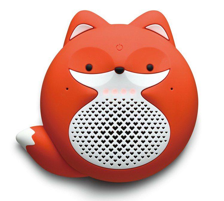 遠傳愛講智慧音箱小狐狸款。圖/遠傳提供