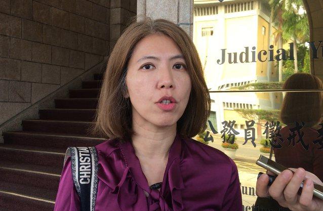 律師廖芳萱。記者林孟潔/攝影