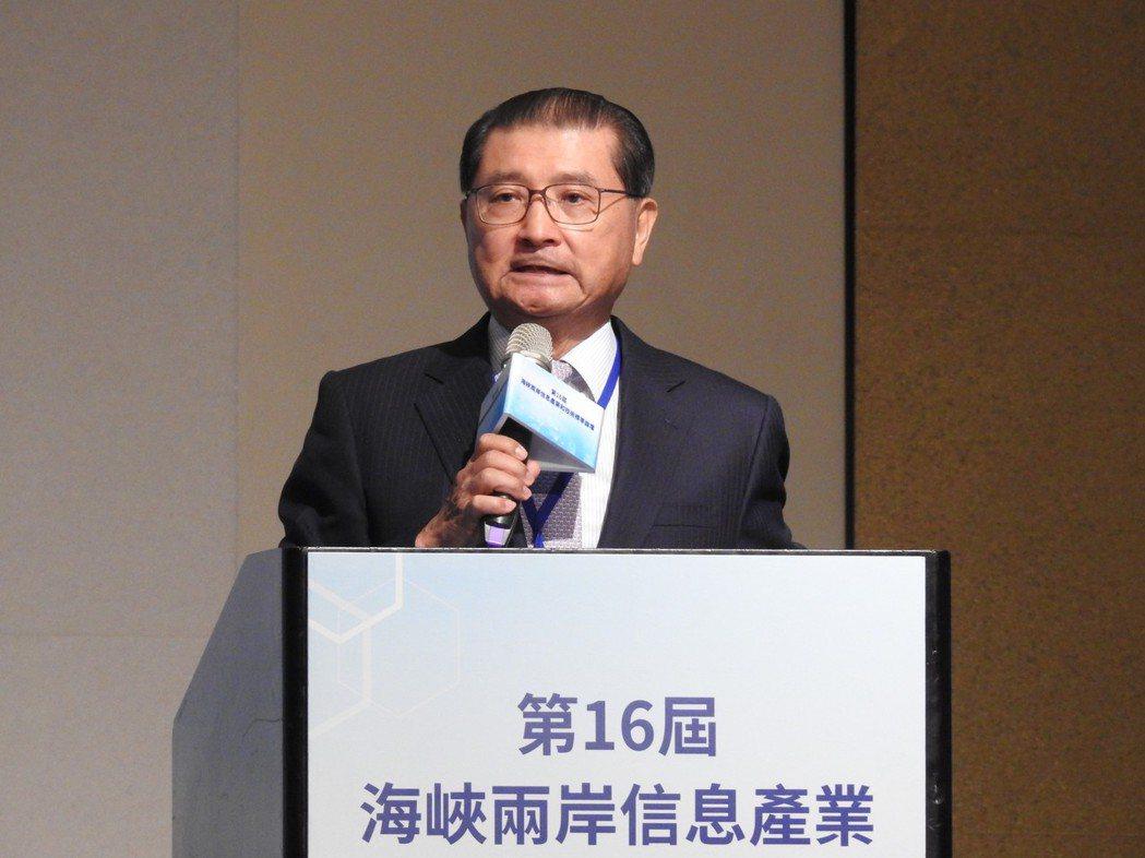 電電公會理事長李詩欽。記者林宸誼/攝影