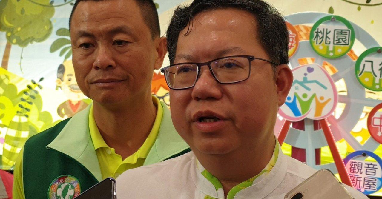 鄭文燦說,台灣真正遇到的困難不是外交,而是一個崛起的中國要讓台灣消失。記者鄭國樑...
