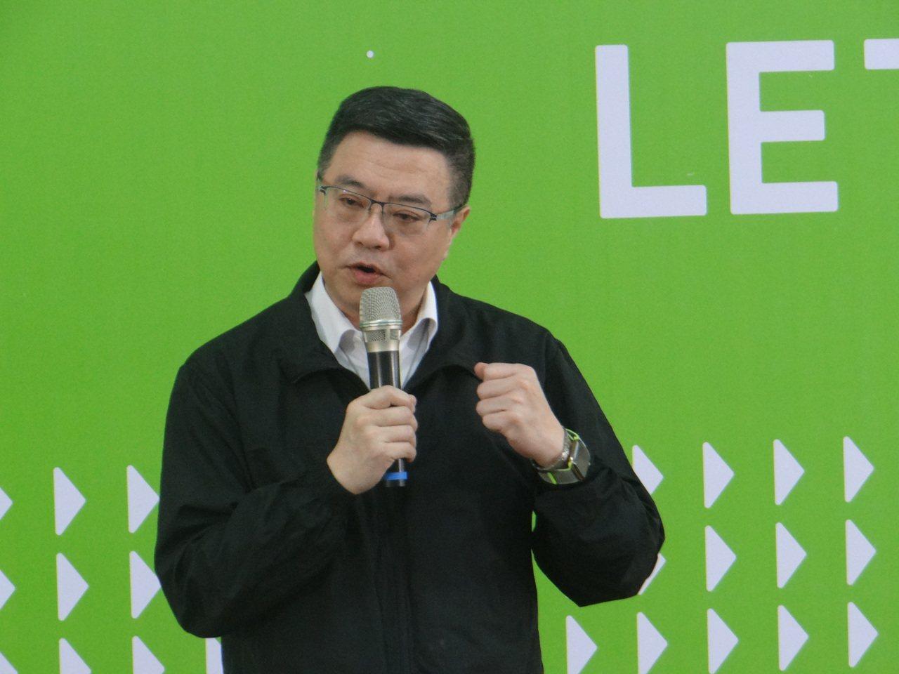 民進黨主席卓榮泰今天下午到雲林和輔選幹部座談,強調因應選情變化,希望蘇治芬參選,...