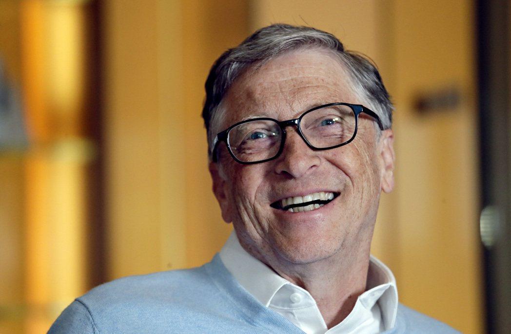 微軟創辦人蓋茲的資產中,有六成配置於股票。(圖/路透)