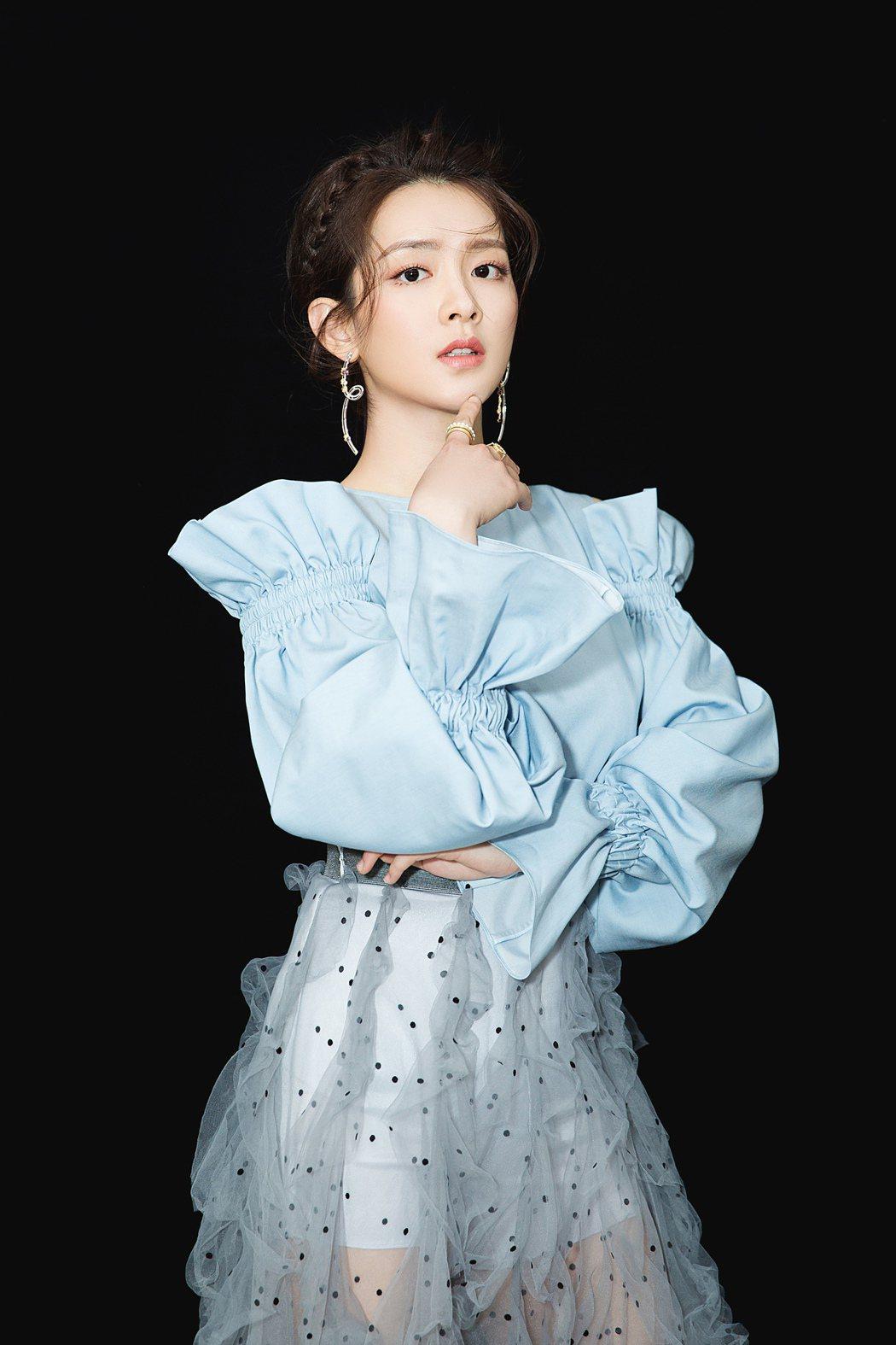 舒妃陳昊宇目前演出「九州縹緲錄」。圖/LiTV提供