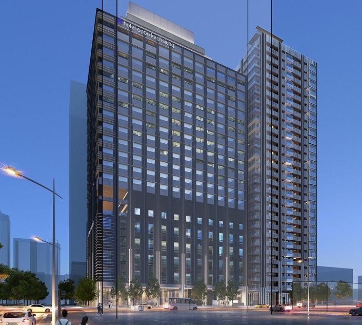 日商開發案規畫興建2棟建築物,分別為臨中山路21層的「日式飯店」,及臨文林路29...