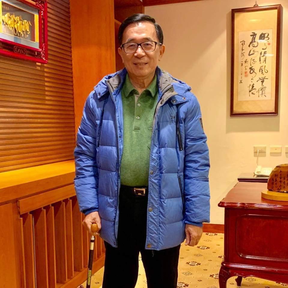 前總統陳水扁。圖/取自臉書台灣勇哥粉絲團