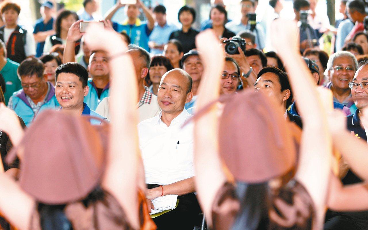 高雄市長韓國瑜本周六將到屏東造勢,發揮「母雞帶小雞」的精神,為屏東立委輔選,拉抬...