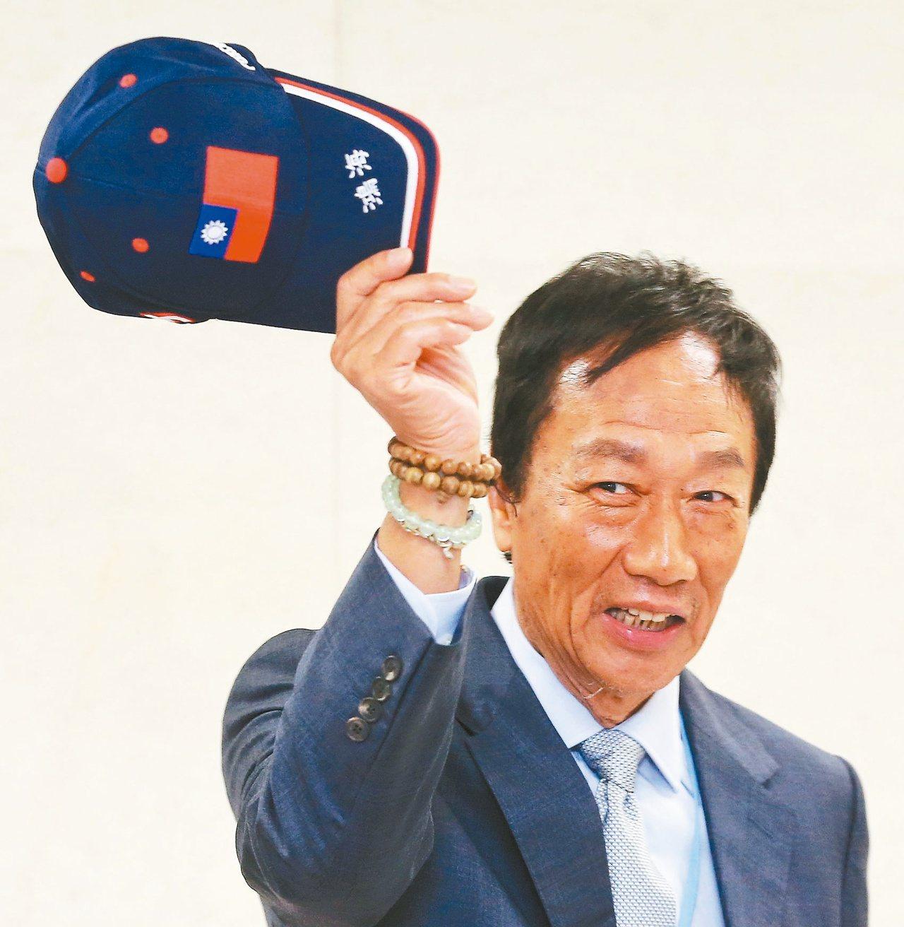 鴻海創辦人郭台銘宣布不參選2020總統,保留了他未來與聞國政及社會改造的寬廣空間...