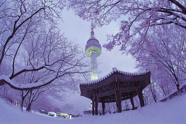 5月底至今,南韓A肝病例已超過1.4萬人,赴韓旅遊必須小心。圖為南韓著名旅遊景點...