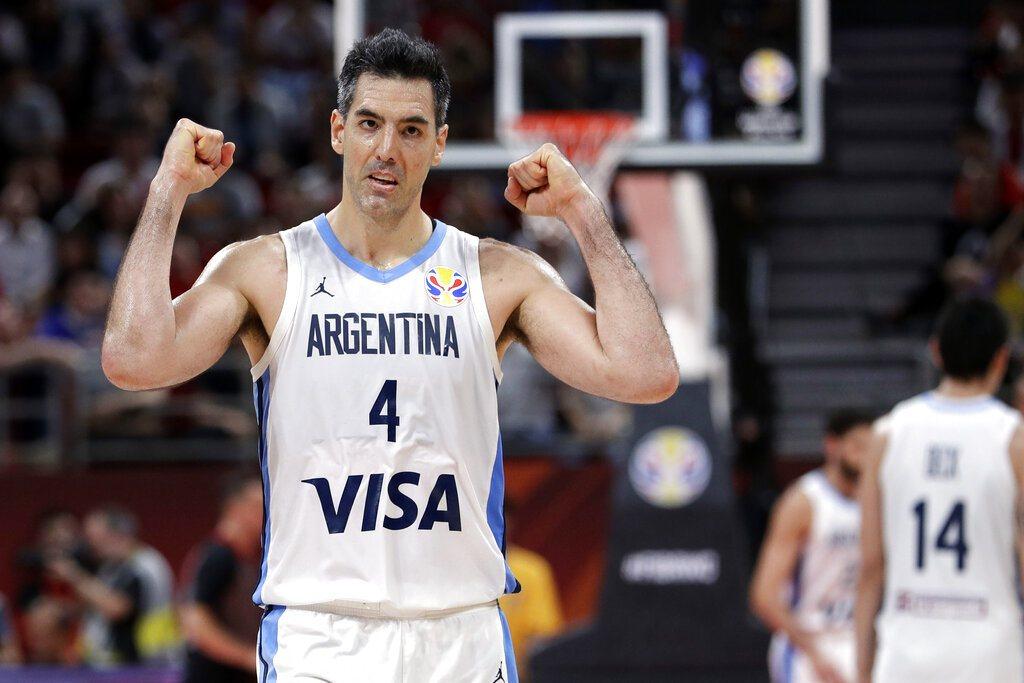 39歲的阿根廷禁區悍將史柯拉成為世界盃淘汰賽階段歷史的得分王。 美聯社