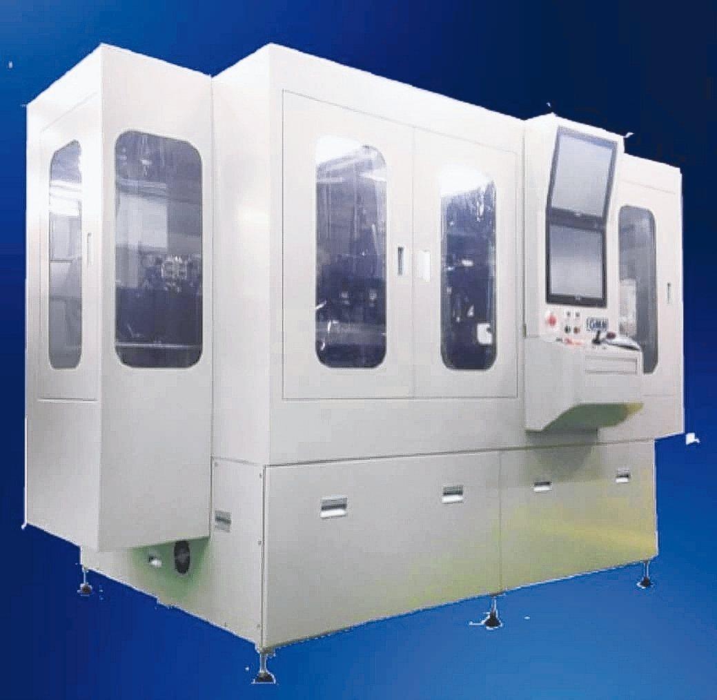 均華精密推出6面檢查晶粒撿選機、Fan out 高精度黏晶機及載帶式晶粒挑撿機。