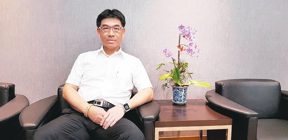 臺灣機械工業同業公會新上任秘書長許文通。 魯修斌/攝影