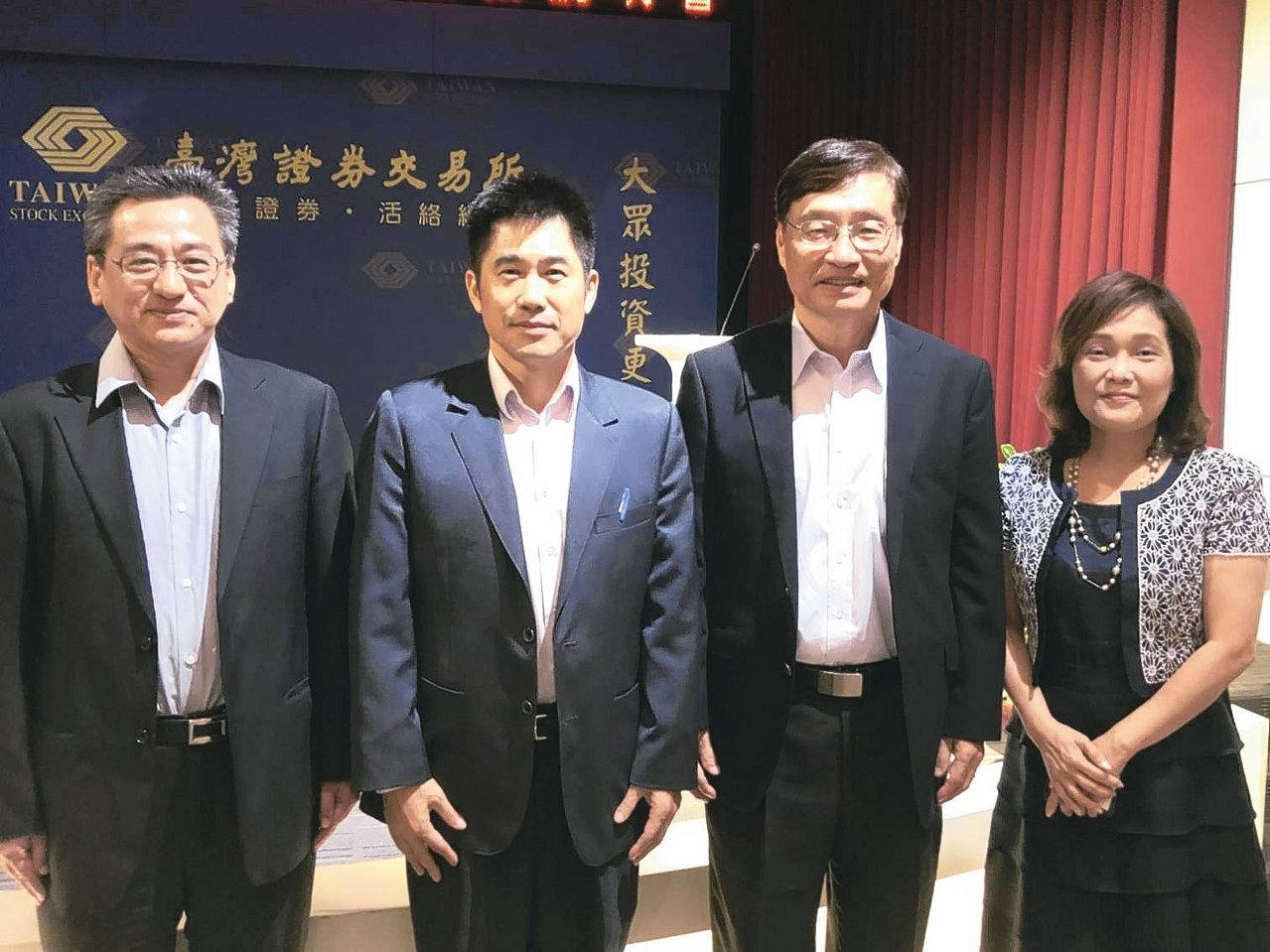 無敵科技總經理李圍正(左二) (本報系資料庫)