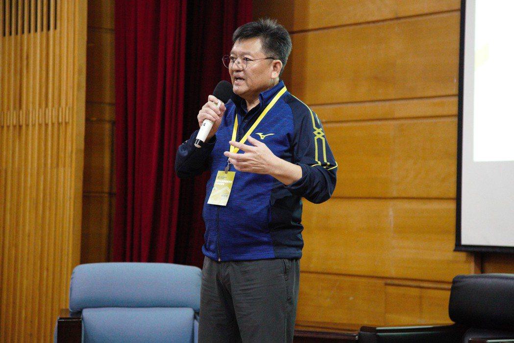 體育署副署長林哲宏開場致詞。體育署/提供