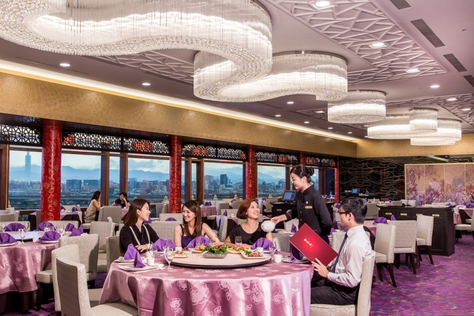 圓山飯店金龍餐廳。圓山飯店/提供