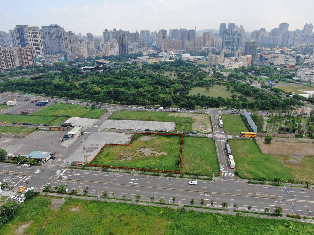 中都重劃區土地標售是外界關注的焦點。 地政局/提供