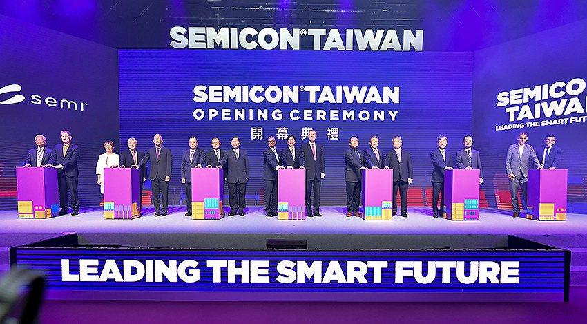 SEMICON Taiwan國際半導體展,今 (18) 日於台北南港展覽館一館舉...