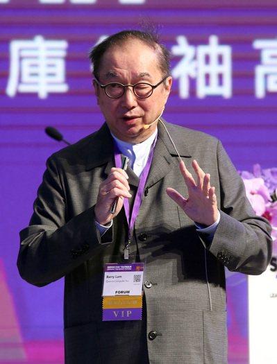 台北國際半導體展科技智庫領袖高峰會,與談人包括廣達董事長林百里。記者曾吉松/攝影