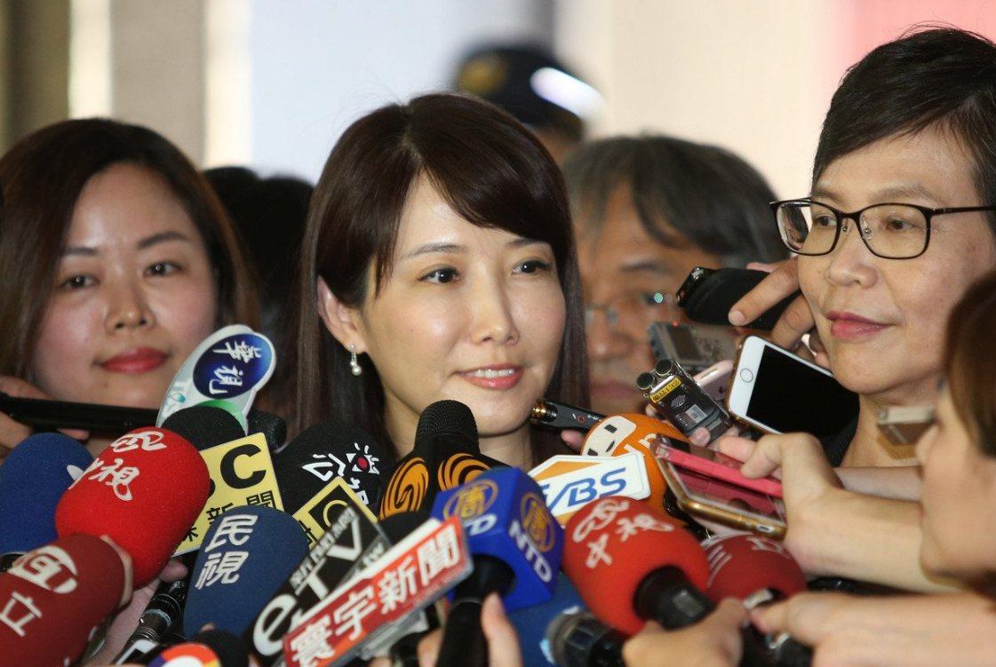 郭陣營發言人蔡沁瑜。聯合報系資料照片/記者陳柏亨攝影