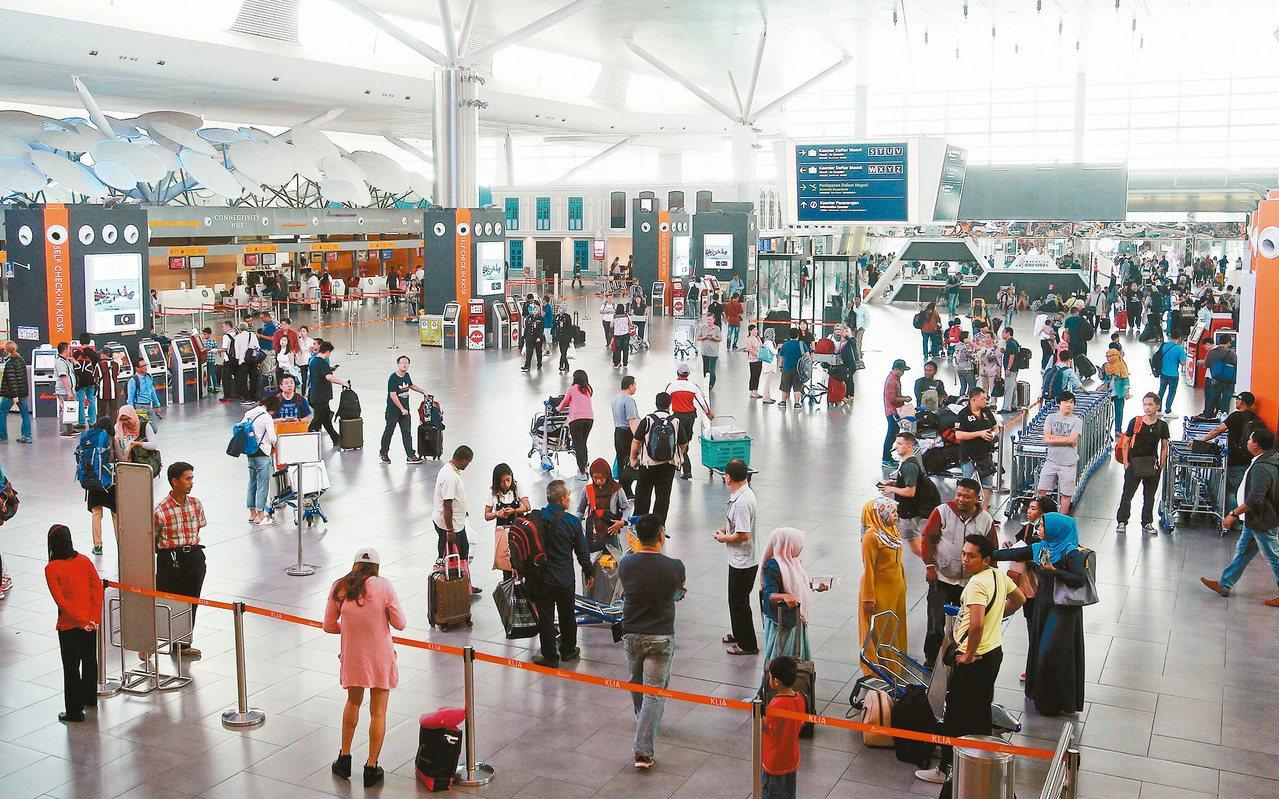 圖為大馬吉隆坡機場。美聯社