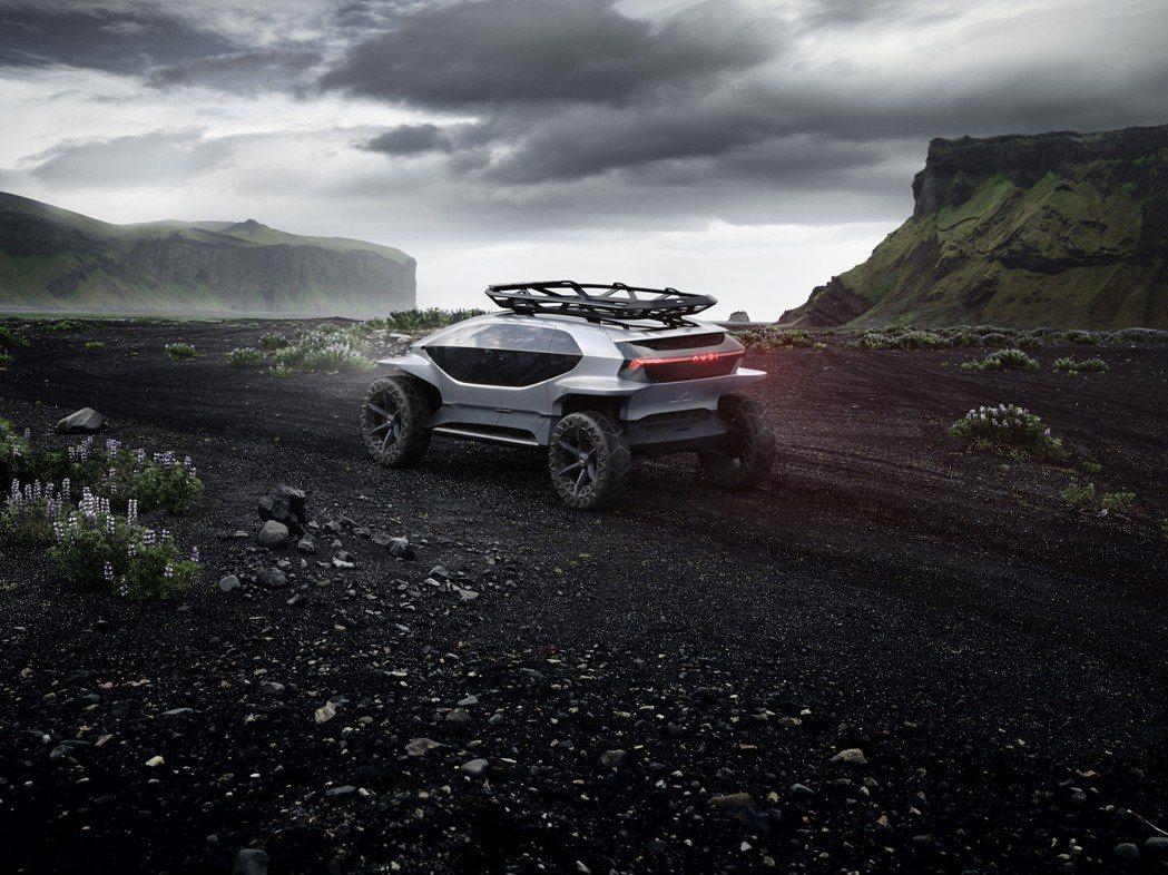 Audi AI:TRAIL quattro。 圖/Audi提供