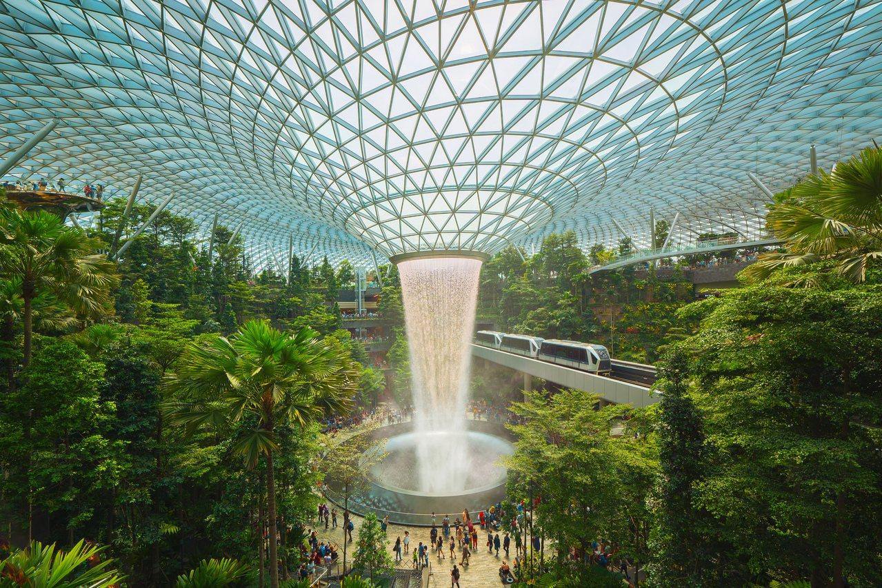 新加坡,樟宜機場。圖/ingimage