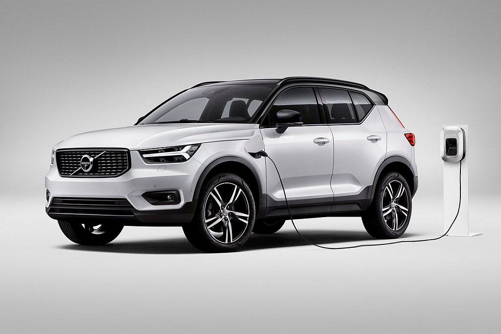 Volvo XC40 T5 Twin Engine插電式油電混合車型將於明年二月...